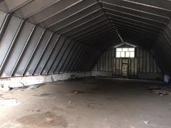 Ангар бескаркасный 36х18 алюминиевый в Киеве