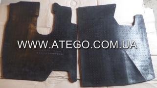 Kit rubber floor mats cab Mercedes Atego