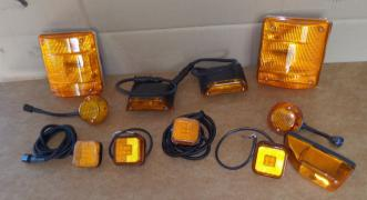 Lights, turns MAN L2000 (old type, before 2000)
