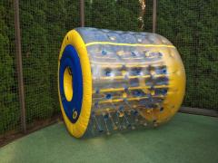 "Rent inflatable rides: ""Zorba"", ""Roller"", ""Bamperbol"