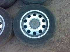 Sell Audi alloy wheels with summer tires 195/65 R15