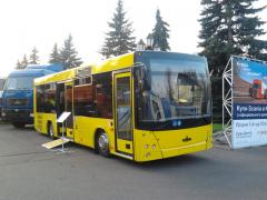 The buses MAZ 206 (diesel engine MERCEDES 4 cylinder)